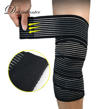 3d85ea51b8 Sports Knee Protectors Basketball Weightlifting Squat Bandage Wrap Strap Knee  Brace Calf Safety Supports Leg Warmers