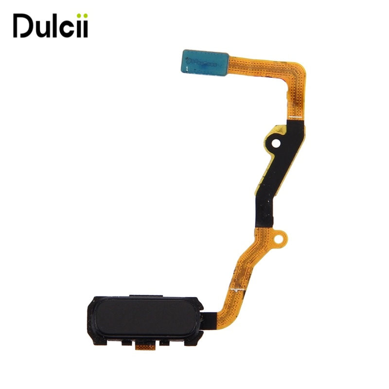 Dulcii for Samsung Galaxy S7 edge G935 OEM Fingerprint Button Flex Cable for Samsung Galaxy S 7 edge SM-G935 - Black