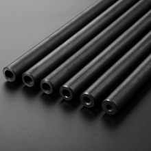 O/D 25mm Seamless Steel Pipe High Pressure Tube Structural Home DIY tool Partsprint black