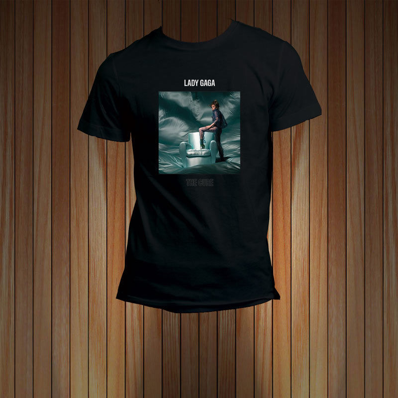 The Cure Single Lady gaga Tour T-shirt Mens Tee