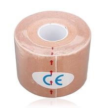 SZ-LGFM-1 Roll Muscles Care Fitness Athletic Health Tape 5M * 5CM – Apricot