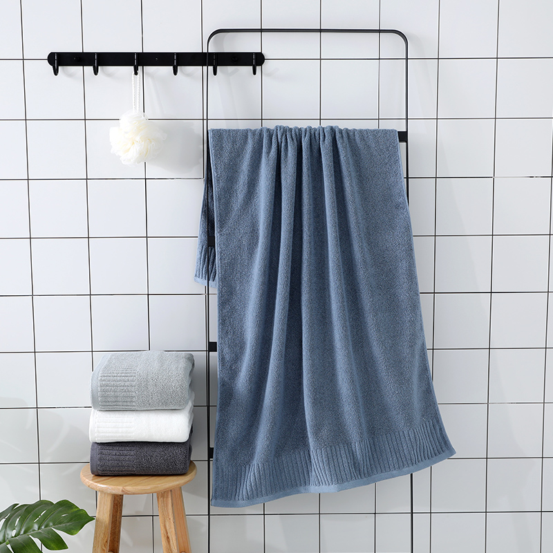 Image 4 - LREA 1pc FASHION Pure and fresh style face towel 100% cotton material Soft and comfortable Protect your skin 34x71cm-in Face Towels from Home & Garden