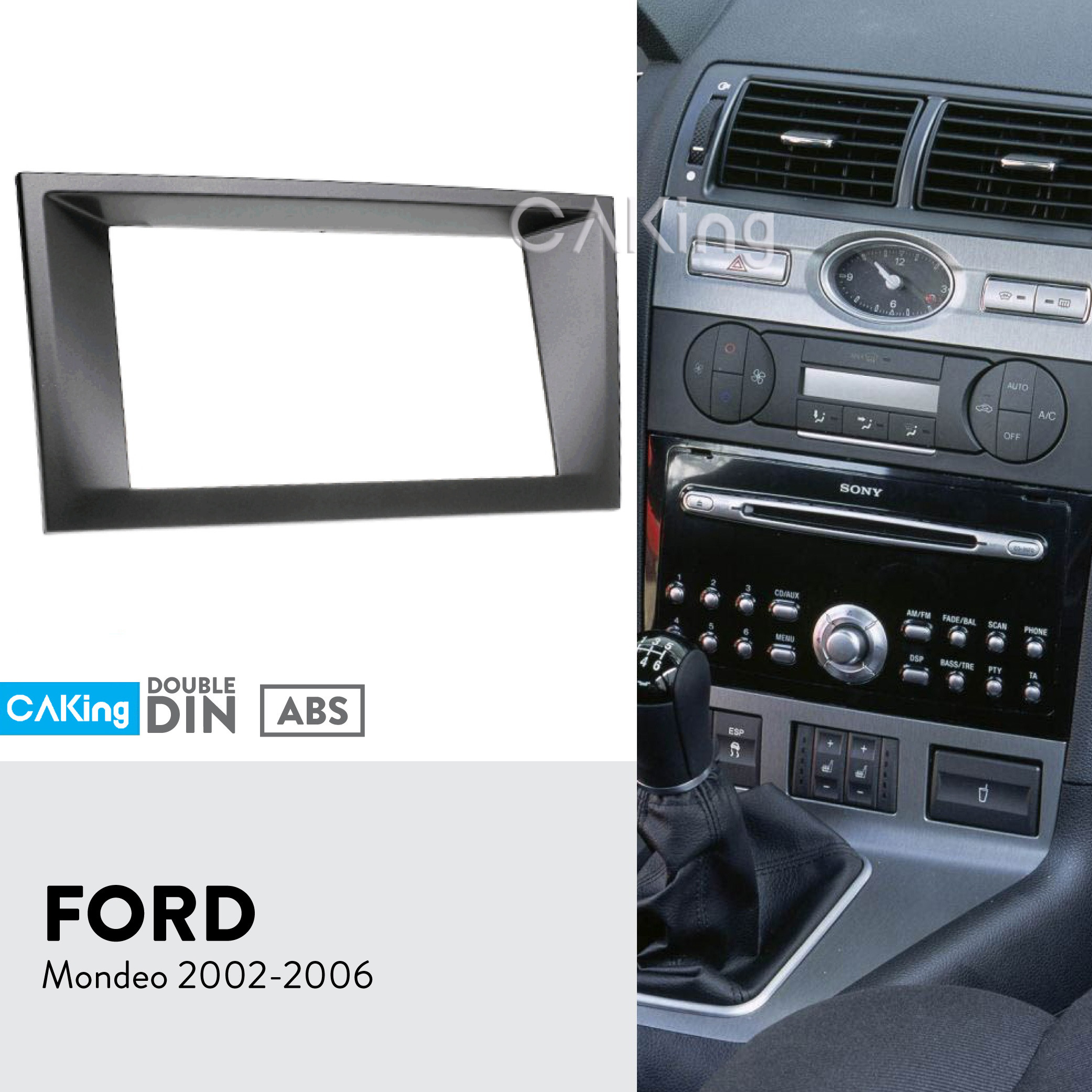 Metra 95-3310B Double Din Installation Kit For 2013 Chevy Traverse Gmc Acadia