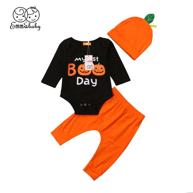 364064980 Kids Clothes Set Toddler Newborn Infant Baby Boy Girl Outfit ...