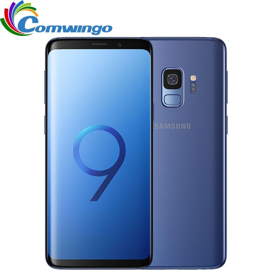 Original Samsung Galaxy S9 4GB RAM 64GB ROM Mobile phone 5.8 Inch screen 12MP 3000mAh Qualcomm 4G LTE Octa-core Smartphone