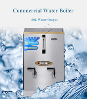 Commercial Water Boiler Electric Automatic Water Heater Office School Railway Station Beverage Shop Water Boiler 60L