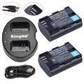 2 Unids LP-E6 LPE6 LP E6 Batería Recargable Completamente Codificado Versión + USB cargador doble para canon 6d 5d mark iii 5d mark ii 7d 60D