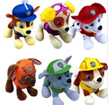 hot sale 6pcs 20CM Canine Patrol Dog Toys Russian Anime Doll Action Figures Car Patrol Puppy Toy  Gift for Child