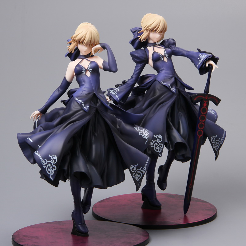 Anime Fate/stay Night Action Figure – Red Black Wedding Dresses Saber