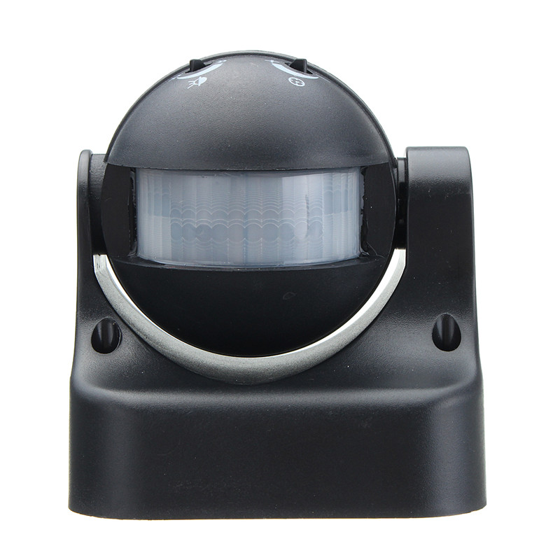 все цены на 180 degree Auto PIR Motion Sensor Detector Switch Home Garden Outdoor Light Lamp Switch Black Hot Sale