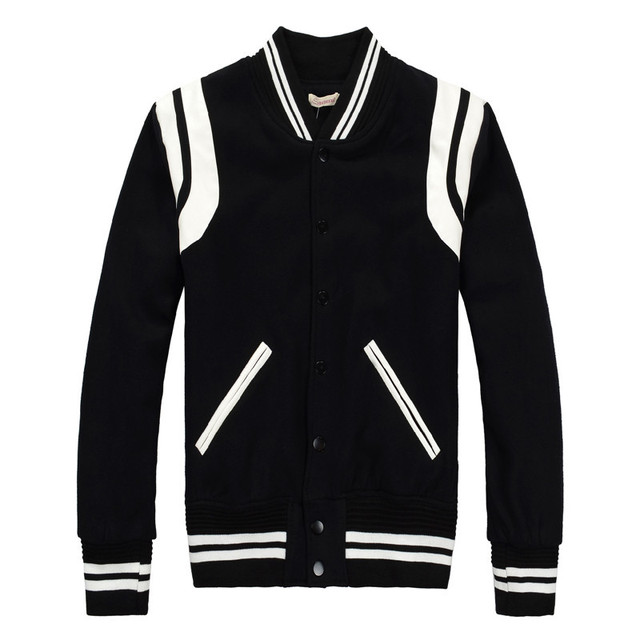 Aliexpress.com : Buy Men Jacket Brand Fashion Slim Fit Baseball ...