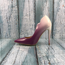 Kmeioo 2019 New Fashion US 5-15 Stiletto Pumps, Womens Pointed Toe High Heels Evening Party Dress Shoes Classic Slip On Pumps