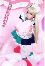 LoveLive! lindo minami kotori maid set completo dress cosplay del anime del traje de cualquier tamaño nuevo