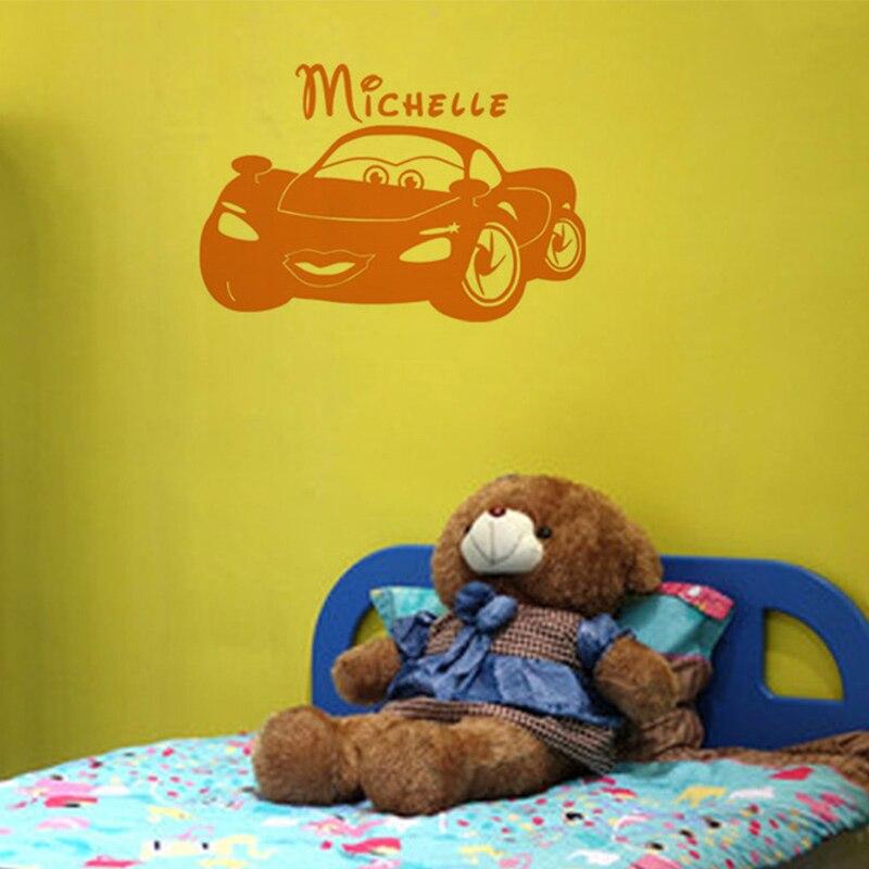 ①New Childrens Wall Decals Decor Cartoon Wall Car Decor Sticker 3d ...