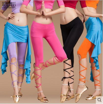 Belly dance costume sexy modal belly dance pants for women belly dance exercise pants