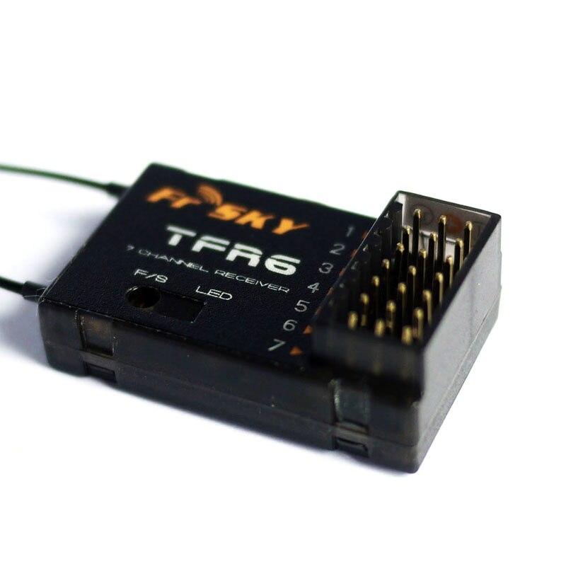 Récepteur FrSky TFR6/TFR6 A7ch 2.4 Ghz Compatible FUTABA FASST
