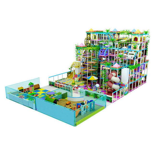 China supply Cheer Soft play zone play centre children foam ...