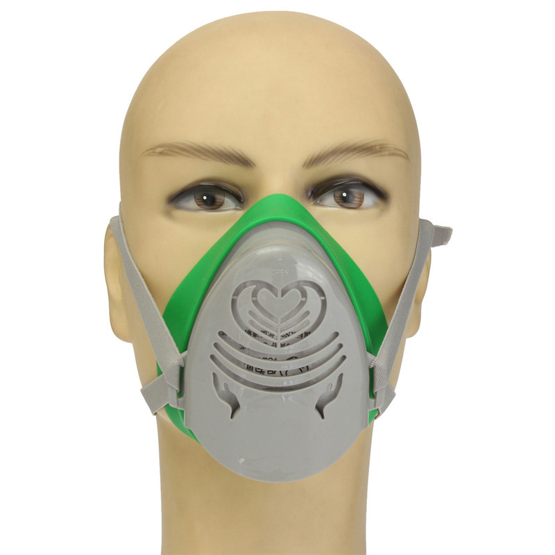 Personal Health Care Zlrowr N3800 Anti-dust Facepiece Filter Paint Spraying Cartridge Respirator Gas Mask