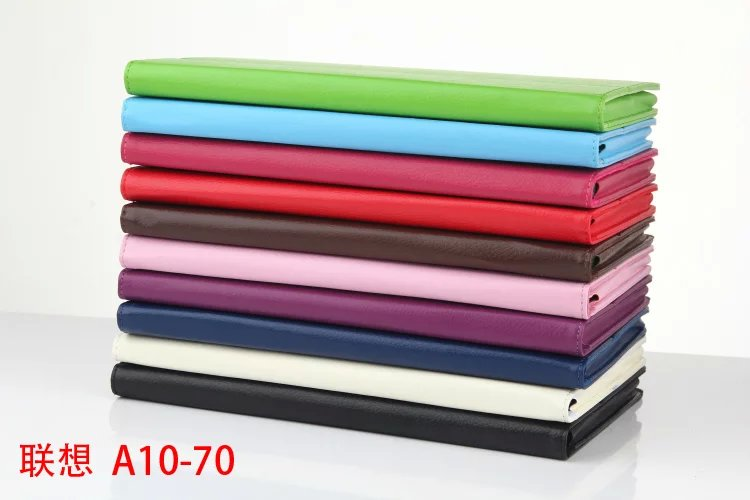 Protective Case For Lenovo Tab 2 Tab2 A10-70F a10-70L A10 70 Tablet Case Litchi Grain PU Leather Case Flip cover