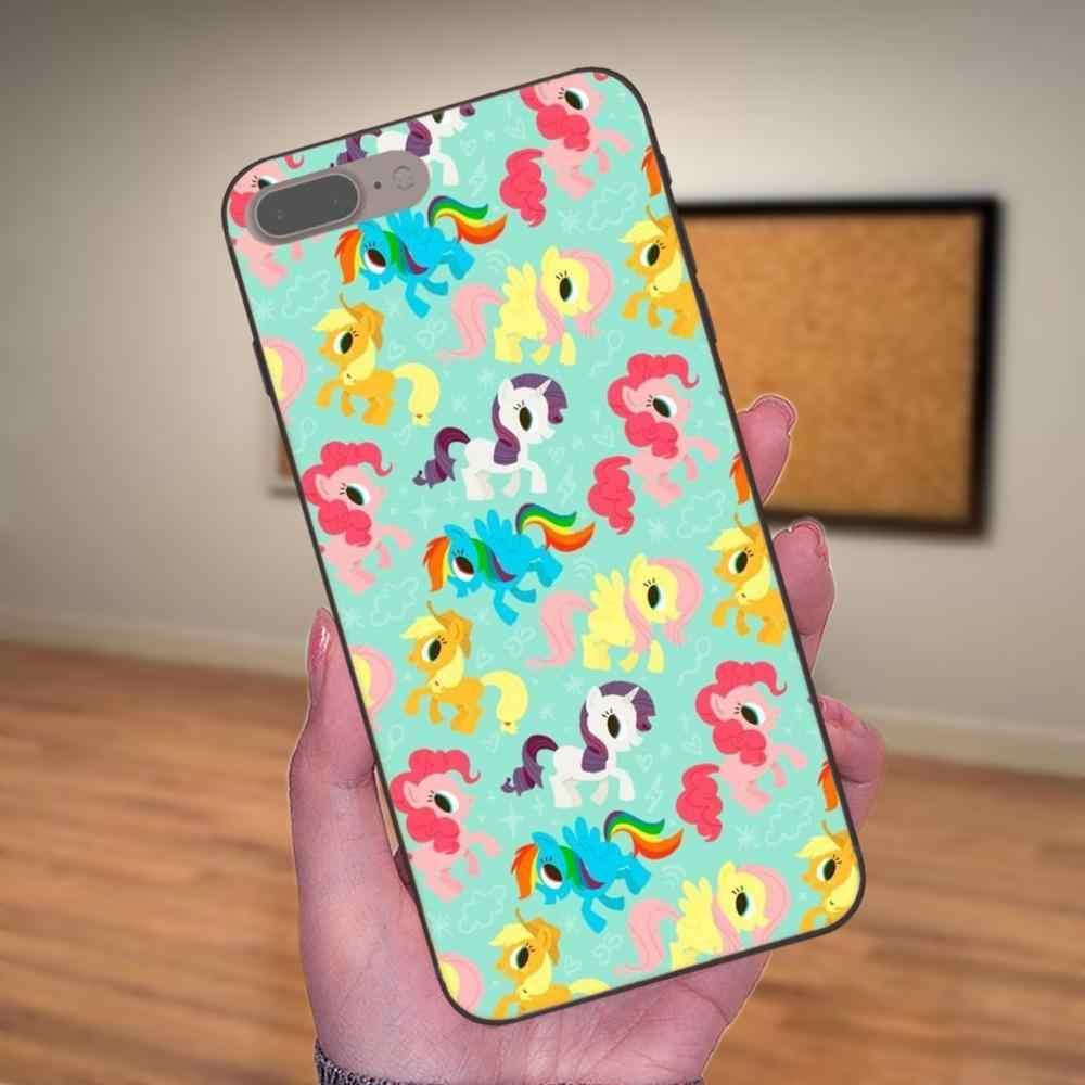 Чехлы кожи мой маленький пони Флаттершай для samsung Galaxy Note 4, 8 9 G313 S3 S4 S5 S6 S7 S8 S9 S10 Edge Plus Lite I9080