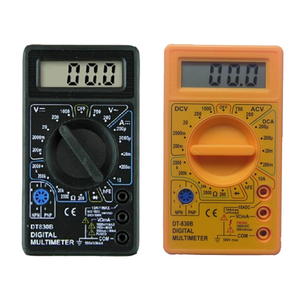 LCD Digital Multimeter AC/DC 750/1000V DT830B Voltmeter Ammeter Ohm Tester Meter Digital Multimeter
