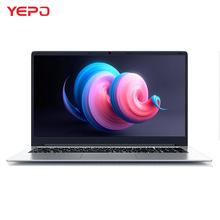 YEPO laptopa 15 6 cal 8GB pamięci RAM DDR4 128GB 256GB 512GB SSD dysk twardy o pojemności 1TB Ultrabook do gier laptopów Intel J3455 Win10 Notebook komputer tanie tanio ≤10mm 2 * USB3 0 Hdmi Główne przydzielonego pamięci pamięci 1 3 KG YEPO 737A6 13 3 EMMC 16 9 Intel (R) HD Graphics