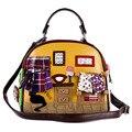 CAT дома сумка 2017 Новых женщин сумки Сумки Италия Ретро Ручной Конфеты Bolsos Bolsa Feminina известный дизайнер crossbody сумка
