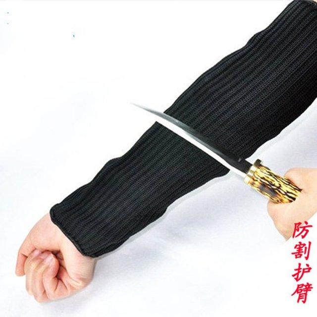 Anti-cut wrist armband anti- cut steel self-defense anti- knife scratch elbow security equipment
