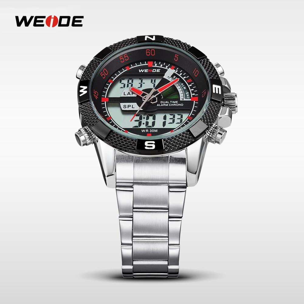 WEIDE Famous Brand Sport Complete Kalender Herenhorloges 3ATM - Herenhorloges - Foto 4