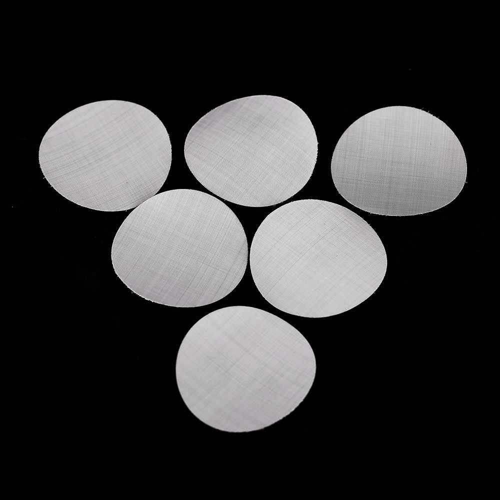 8PCS Filter Mesh Compatible With Nespresso Food Grade Metal Diameter 27MM Stainless Steel Refillable Capsules DIY Coffee Maker