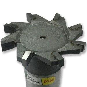 Image 5 - MZG Schneiden Gerade Zahn 16 30mm T Slot Fräser Schweißen Rand Typ Wolfram Stahl Seite fräser Nut Verarbeitung