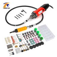 Tungfull Drill Engraver Tool Set 500W Carving Polishing Grinding Mini Drill Electric Engraver Dremel Style Rotary