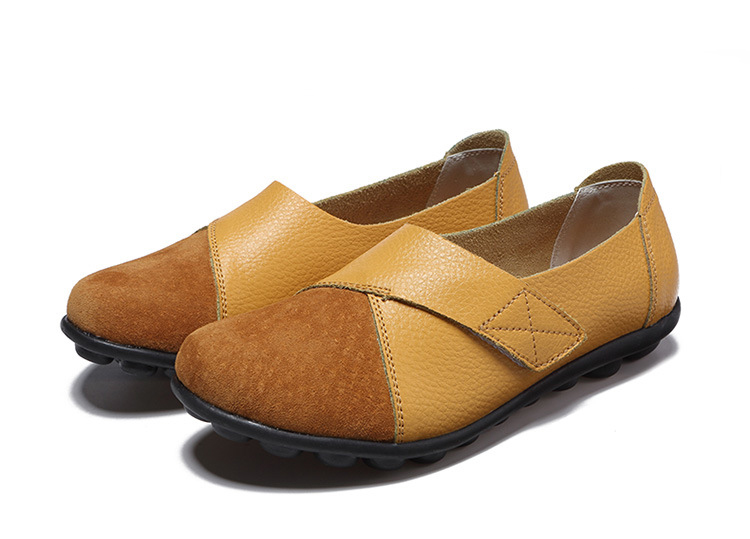 AH 1987-2019 Spring Autumn Women's Shoes Genuine Leather Woman Loafers-23
