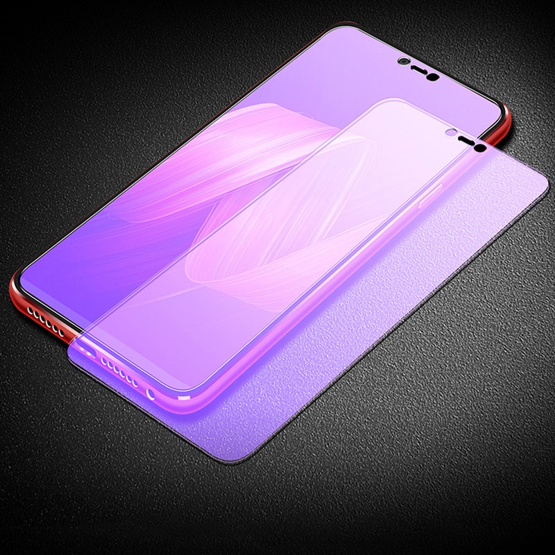 Anti blue ray Tempered Glass For OPPO R7 PLUS R7S R9 R9S 9H Screen Protector for OPPO R11 PLUS R11S R15 A3 A57 Protective film