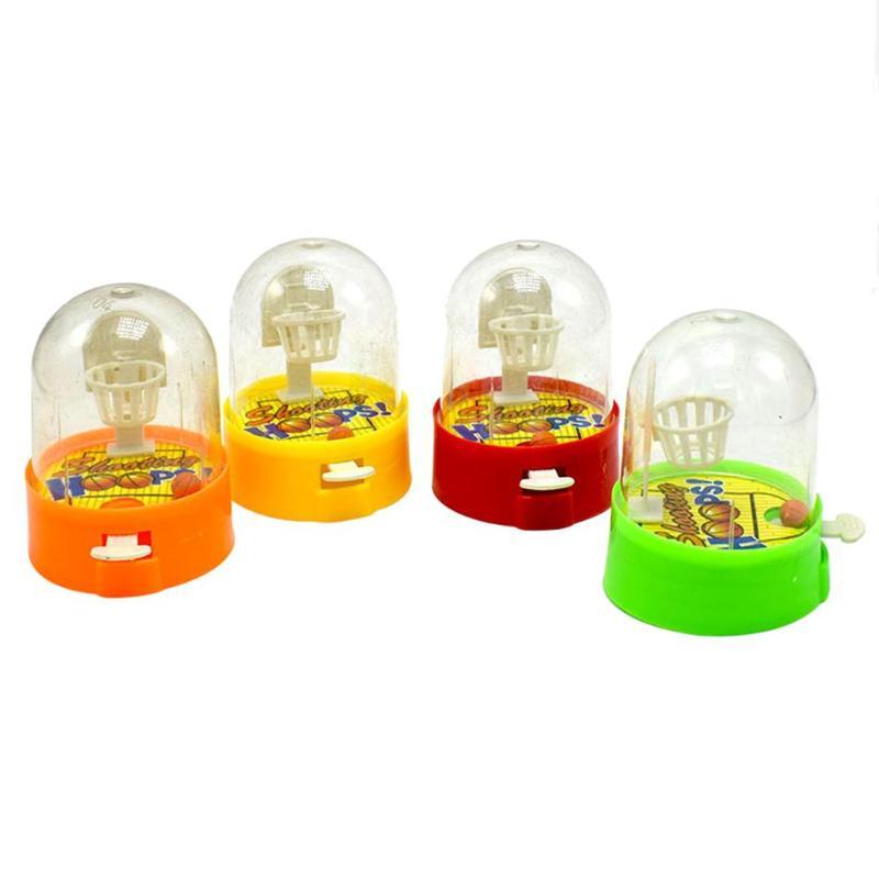 Mini Shooting Toys Finger Shooting Machine Desktop Basketball Games Children's Toys Training Interest In Toys Random Color
