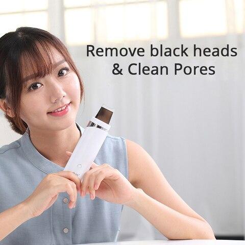 poros limpador cravo acne remocao esfoliante maquina facial massageador