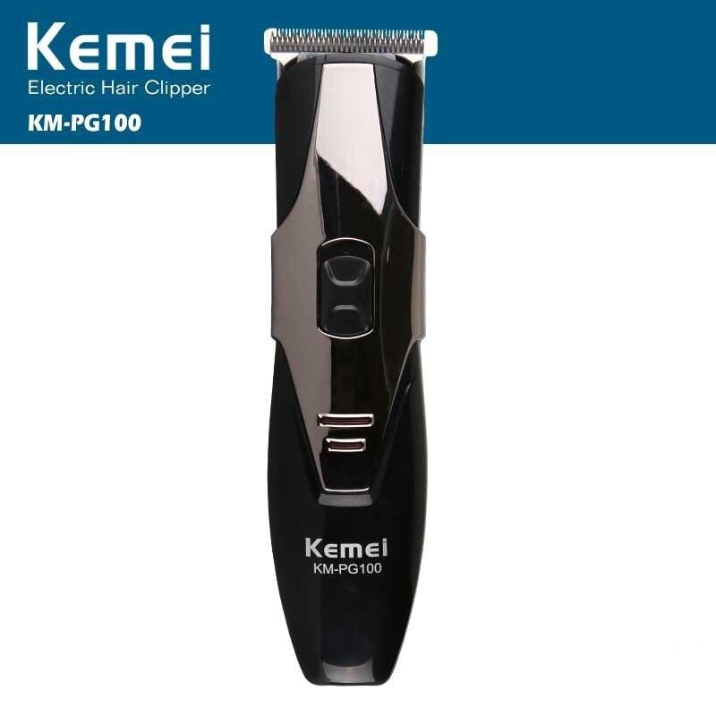 Kemei professionnel électrique tondeuse à cheveux Rechargeable rasoir rasoir sans fil réglable tondeuse à cheveux KM-PG100