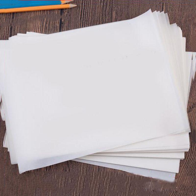 Washi Self-Adhesive Paper Semi-transparent Paper Handbook A4 Printing Sticker Base Paper Diy Handbook Surrounding
