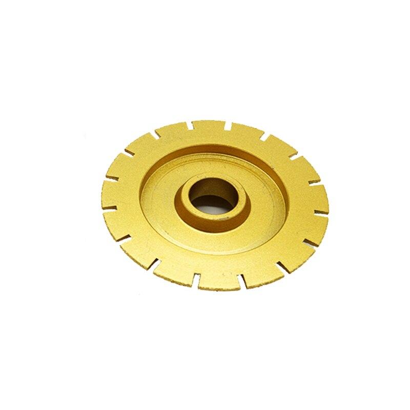 RIJILEI Mole diamantate per brasatura 140mm * 30mm per smerigliatrici - Utensili elettrici - Fotografia 3