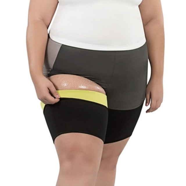 5f774a8c020aa Women s Sexy Plus Size Thigh Slimming Sauna Sleeve Postpartum Girl Thigh  Trimmer Compression Leg Sleeves Shapewear Modeling Belt