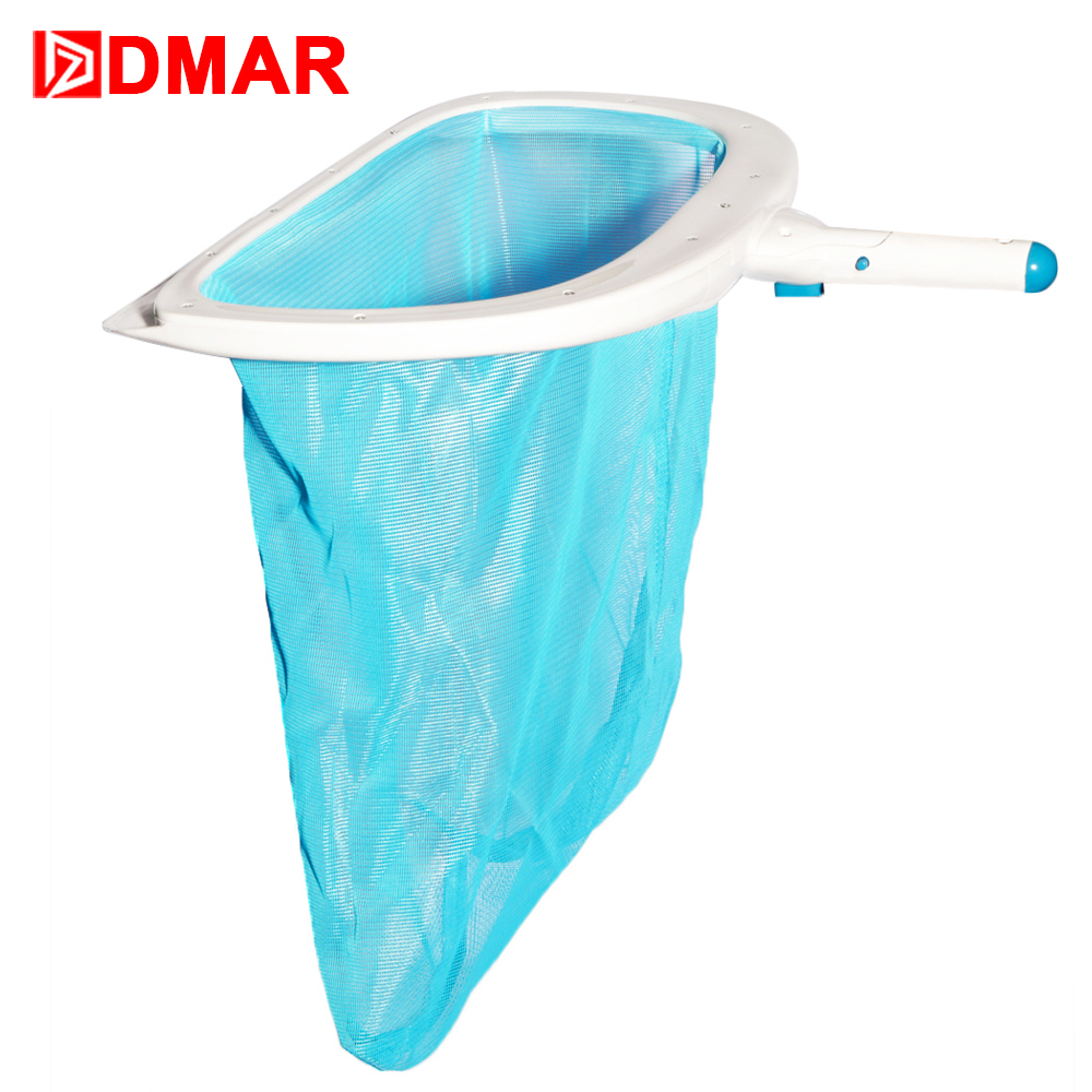 DMAR Swimming Pool Skimmer Cleaner Leaf Rake Mesh Net Pool Tools Leaf Deep Bag Replaceble Net Cleaning Equipment Accessories