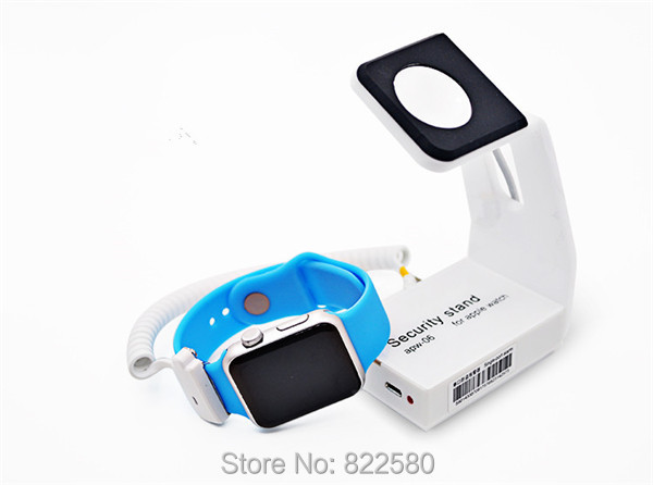 Apple Watch Stand Anti Theft Smart Watch Alarm Holder With Remote Control 10Sets/lot цены