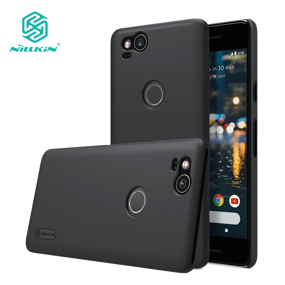 Nillkin Case for Google Pixel 2 XL Frosted Series Luxury PC Hard Back Cover sFor Google Pixel 2 Case Cover
