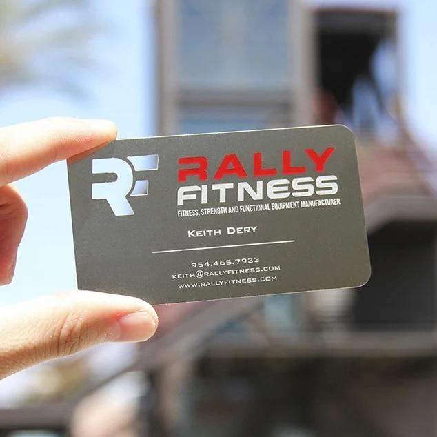 Купить с кэшбэком Manufacture customized printing stainless steel metal business card name card