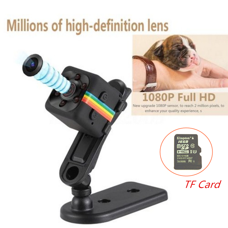 SQ11 Sport DV Micro Min Macchina Fotografica HD 1080 P Mini Videocamera CMOS Visione Notturna DVR Motion Video Recorder Registratore Vocale Mini Cpy Cam