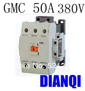 CONTACTOR AC GMC GMC-50 50a 380v 50/60hz high quality цена и фото