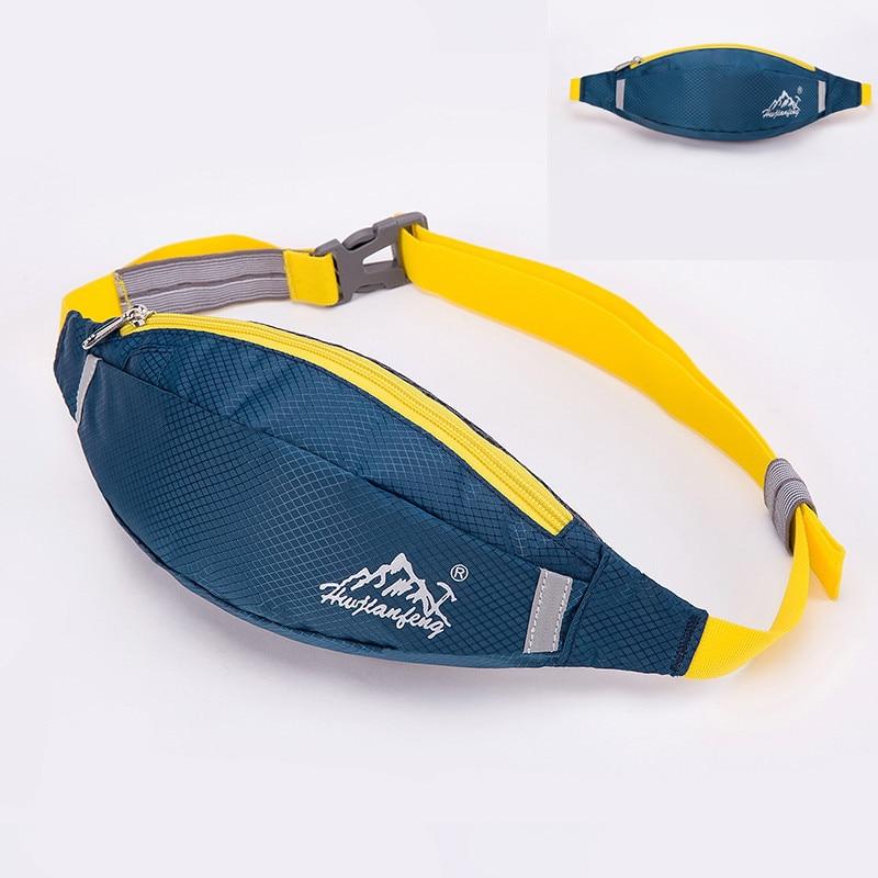 все цены на Running Waist Bag Fitness Packs Mobile Phone Holder Sports Bag Outdoor Waist Belt Fitness Workout Belt Runner Pack онлайн