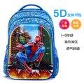 Niños bolsos de escuela de Dibujos Animados de spider man spiderman impresión 5D mochilas niños mochila para niñas y niños, mochila infantil