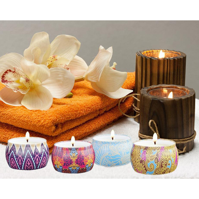 Tin Candle Gift Set