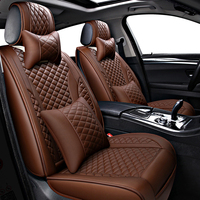 leather car seat covers for chevrolet niva orlando cobalt lanos Cruze Malibu Sonic Trax car accessories car seat protector